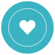The Good Life: April 2021 - Print Label Heart 02