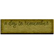 Good Life Feb 21_Tag-A Day To Remember  Chipboard