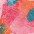 Good Life June 21_Painted paper-pink orange blue