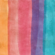 Good Life June 21_Painted paper-Stripe orange pink purple blue Dark