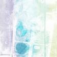 Good Life June 21_Painted paper-Stripe purple blue green   Light