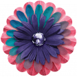 Good Life June 21_Flower Layered-Pink Blue Purple