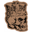 Good Life June 21 Collage_Skull-Cardboard Sticker