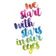 Stars In My Eyes Journal Me Kit - TN 05