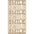 Good Life July 21_Wordart Wood-Smile Smile