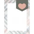 Good Life July 21_Pocket Card-Plaid Heart  3x4