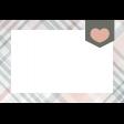 Good Life July 21_Pocket Card-Plaid Heart  4x6