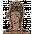 Good Life July 21 Collage_Woman-Cardboard Sticker