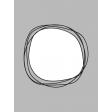 Pocket Card Template Kit #9_Pocket Card-Doodle Circle 3x4