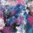 Good Life Aug 21_Mixed Media-Pink Purple Blue Black