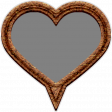 Templates Grab Bag Kit #42 - cork geo tag heart