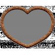 Templates Grab Bag Kit #42 - cork heart