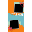 Travelers Notebook Layout Templates Kit #26 - Template 26c