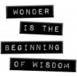 Good Life Aug 21 Collage_Label-Wonder Is The Beginning Of Wisdom