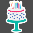 Make A Wish Elements Kit - print sticker cake