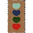The Good Life: September 2021 Elements Kit - burlap hearts