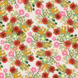 Good Life Sep 21_Paper Flowers-Green Red Orange Pink