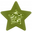 Good Life Sep 21_Star Rubber Glitter-Green