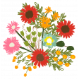 The Good Life: September 2021 Elements Kit - sticker bouquet