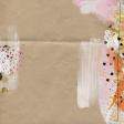 Good Life Oct 21_Mixed Media Canvas-Doily Newsprint Paint