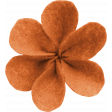 Good Life Oct 21_Flower-Orange  Felt