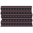 Good Life Oct 21_Washi Tape-Lines & Dashes-Black Pink