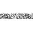Good Life Oct 21_Washi Tape-Vine Design-Black White