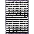 Winter Arabesque Mini Kit - Glitter Frame