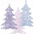Winter Arabesque Stamp - Trees
