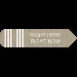 Kraft Travel Label Right Here 2