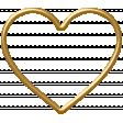 Birdhouse Element Wire Heart