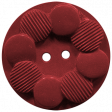 Oregonian Button - Red