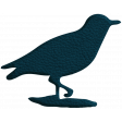 Birdhouse Blue Leather Bird