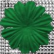 Oregonian Silk Flower - Dark Green