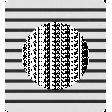Oregonian Frame D - Black Stripes
