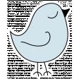Confidence Bird Blue