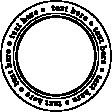 Text Circle Template