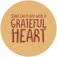 Thankful Harvest Word Circle Each Day