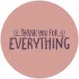 Thankful Harvest Word Circle Everything