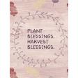 Thankful Harvest Journal Card 07 3x4