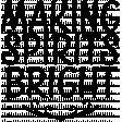Festive Word Art 03 Template