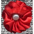 Festive Flower 173 Red