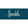 Festive Label Sparkle