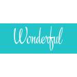 Festive Label Wonderful