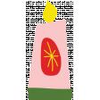 Festive Sticker Candle4