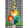 Festive Sticker Tree