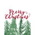 Christmas Day Journal Card 10 3x4