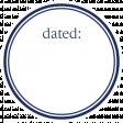 Basics Tag 01 Navy Dated