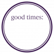 Basics Tag 01 Purple Dark Good
