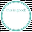 Basics Tag 01 Teal Good
